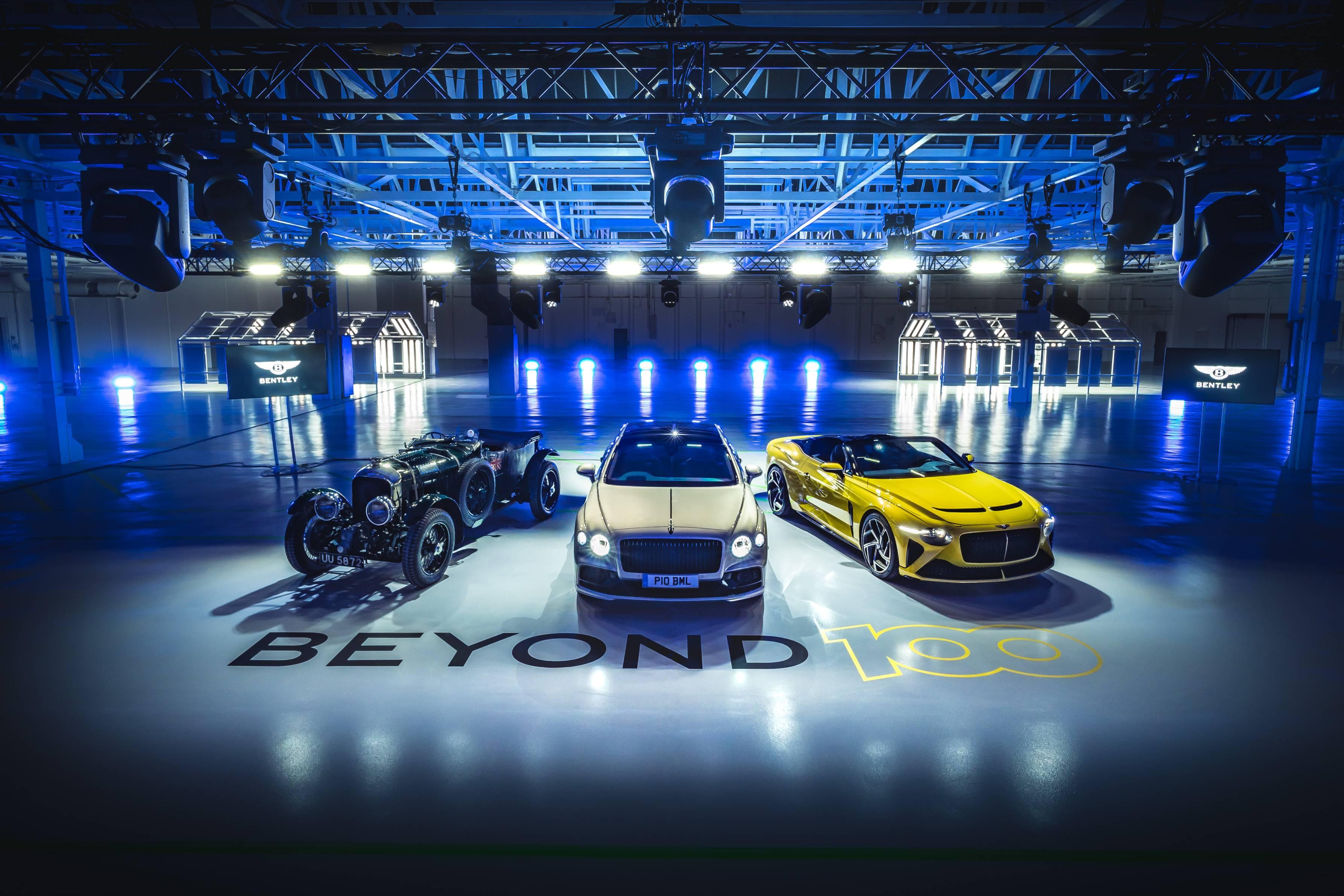 Bentley motors outlines beyond100 strategy, targeting sustainable luxury mobility leadership