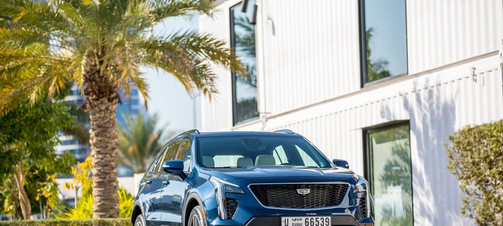 Cadillac Uses SOLE DXB for Middle East Launch of Cadillac XT4