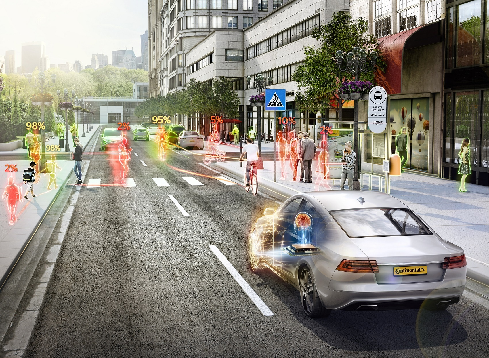 Continental Ramps Up AI Research for Automated Driving