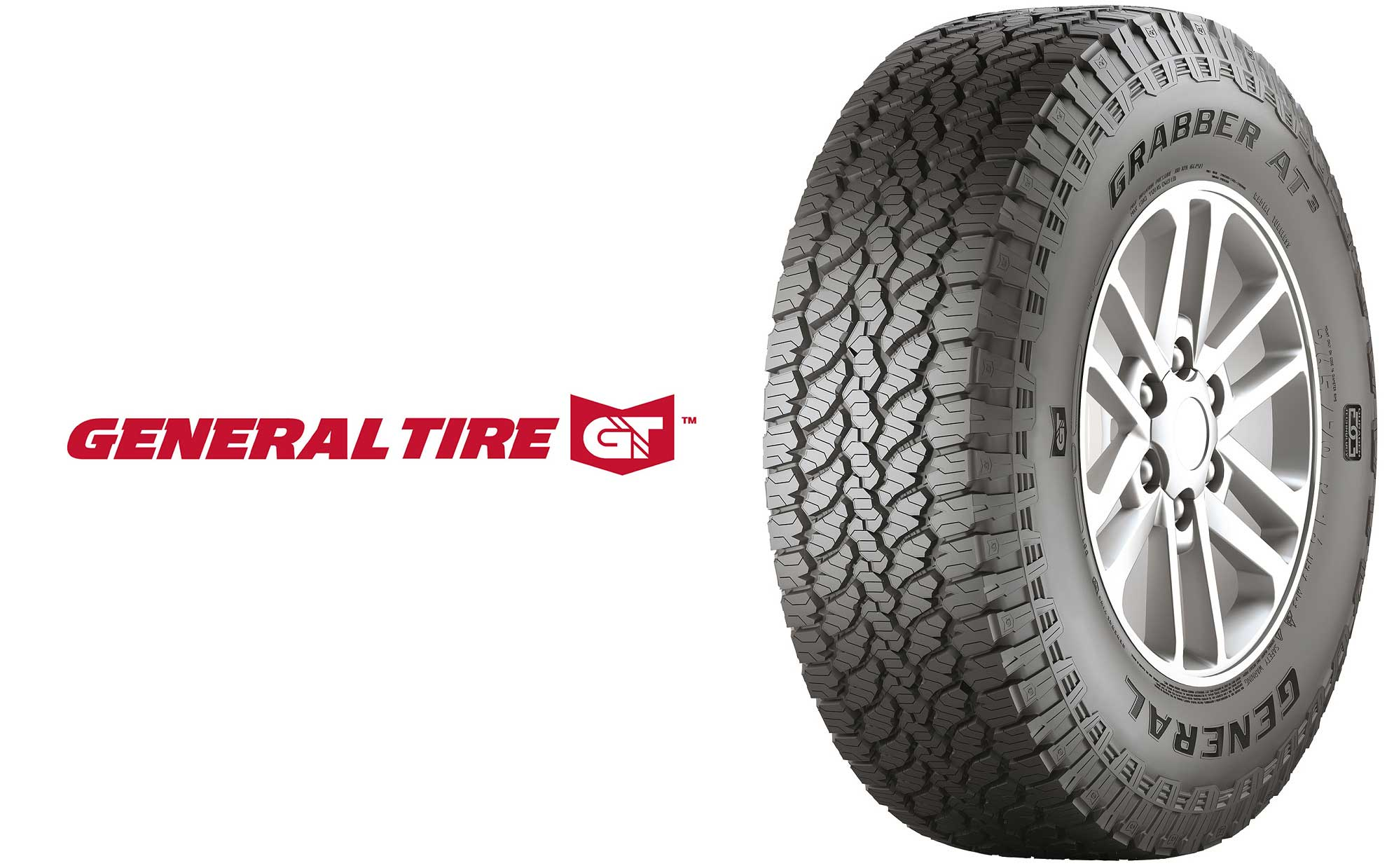 General Tire introduces new technology for its Grabber AT³ range of off-road tires
