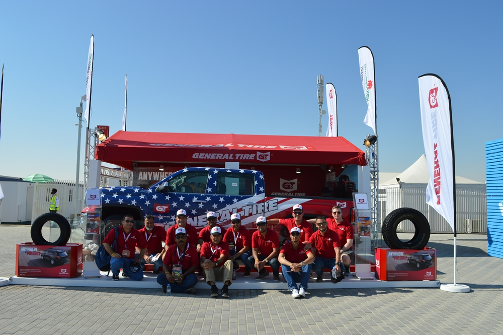 General Tire Promotes Tire Safety at Dubai Sevens tournament