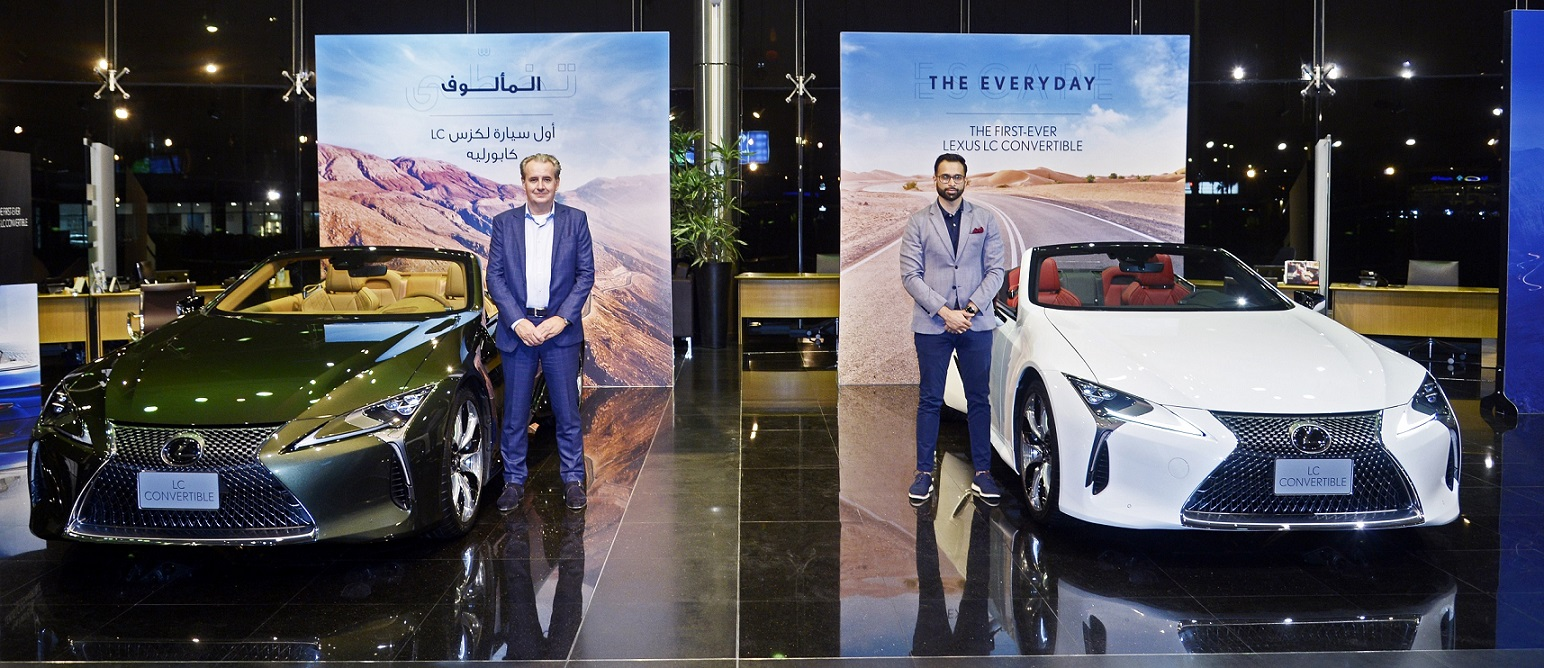 Al-Futtaim Lexus expands flagship LC family with the UAE launch of first-ever Lexus LC 500 Convertible
