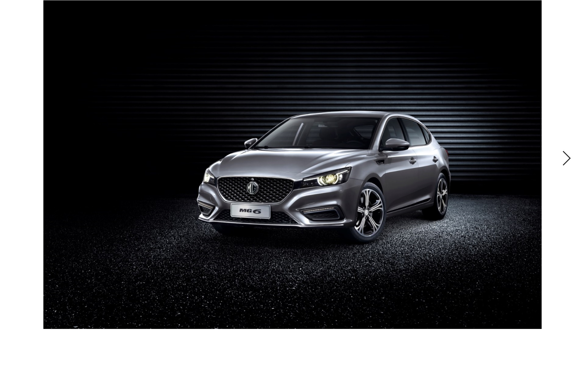 MG Motor Launches all-new MG6 in the Middle East
