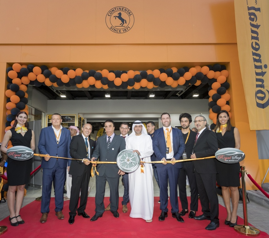Continental Opens Flagship Middle East Service Center in Dubai