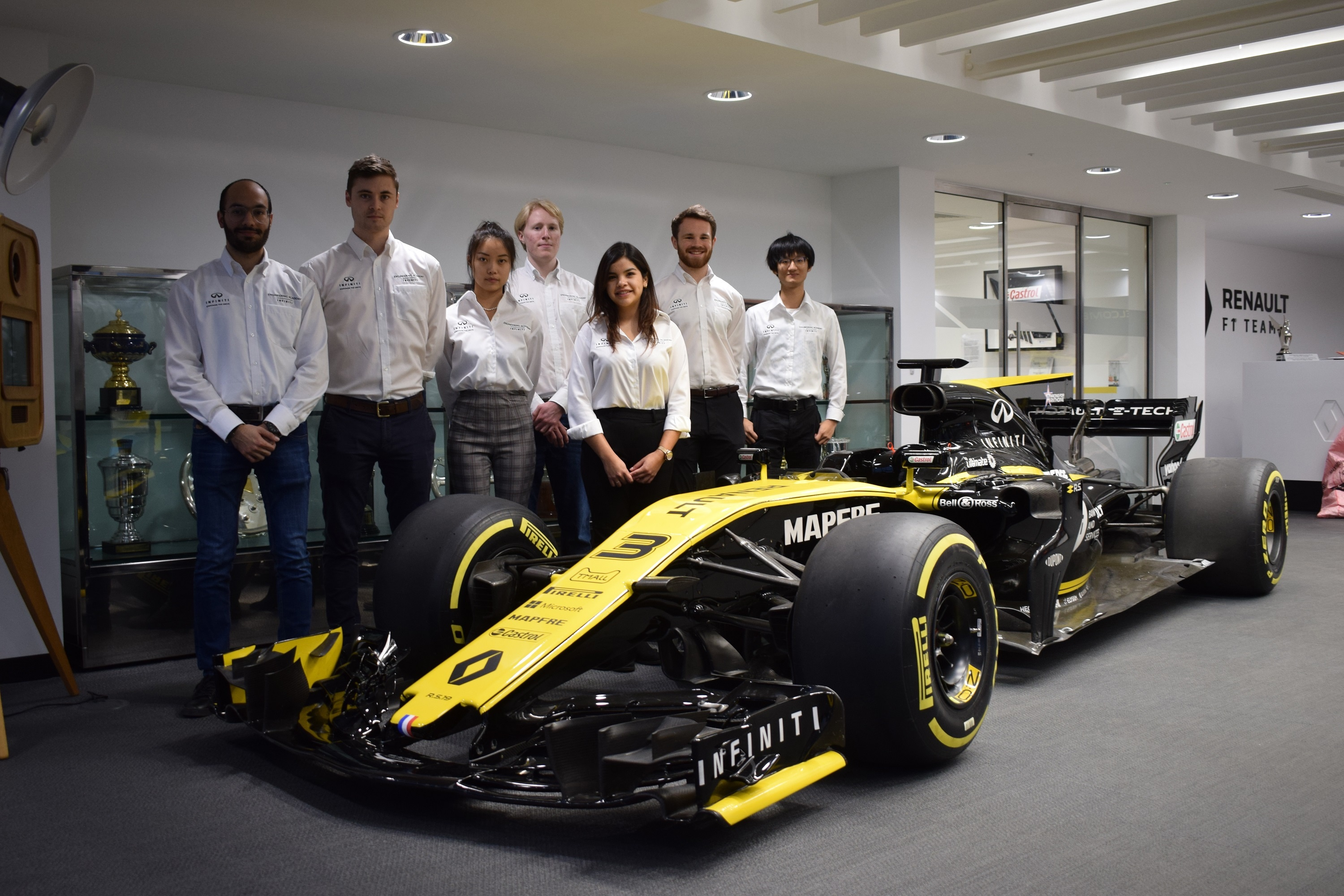 INFINITI Academy Engineers continue placements following lockdown
