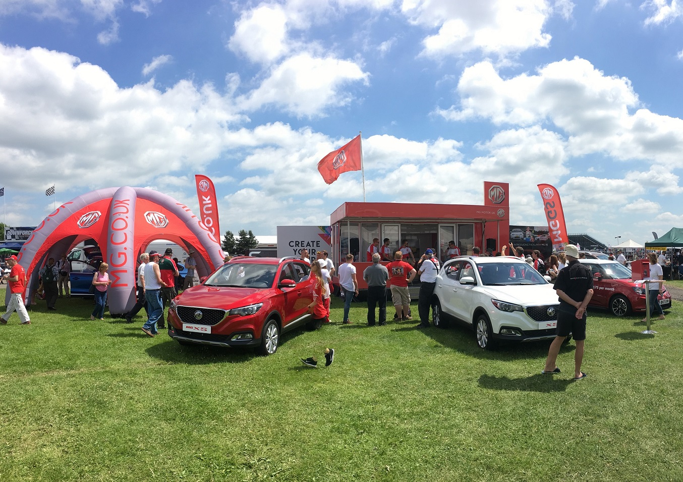 MG Live Event Showcases 97 years of MG history