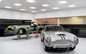 Aston Martin Officially Recommences Production at Historic Newport Pagnell site