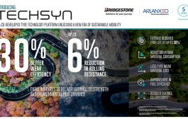 Bridgestone, ARLANXEO and Solvay launch TECHSYN to give tyres unrivalled strength and environmental performance