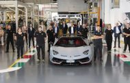 Automobili Lamborghini celebrates the 10,000th Aventador
