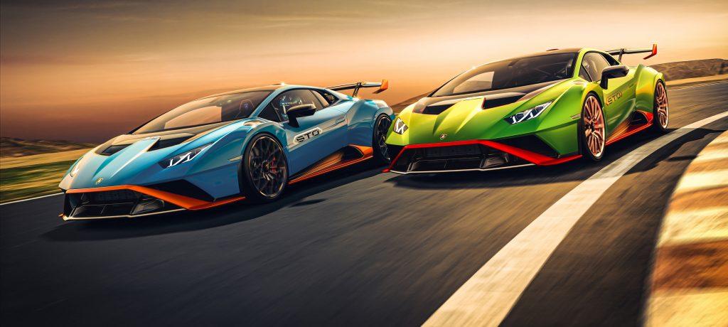 The new Lamborghini Huracán STO