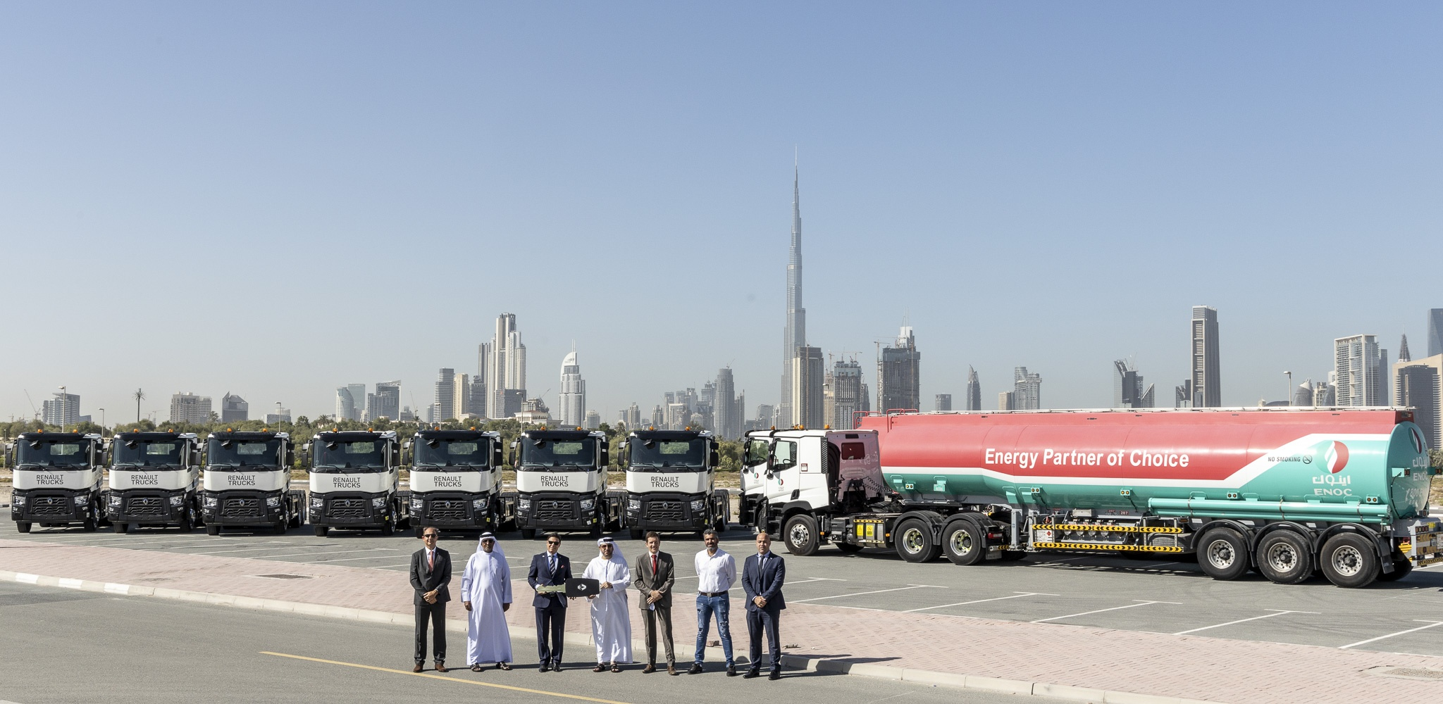 Renault Trucks Becomes ENOC's Newest 'Partner Of Choice'