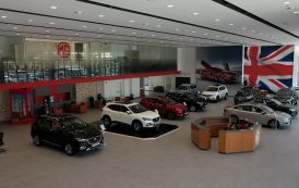 The New MG Flagship Showroom in Kuwait and the largest in GCC