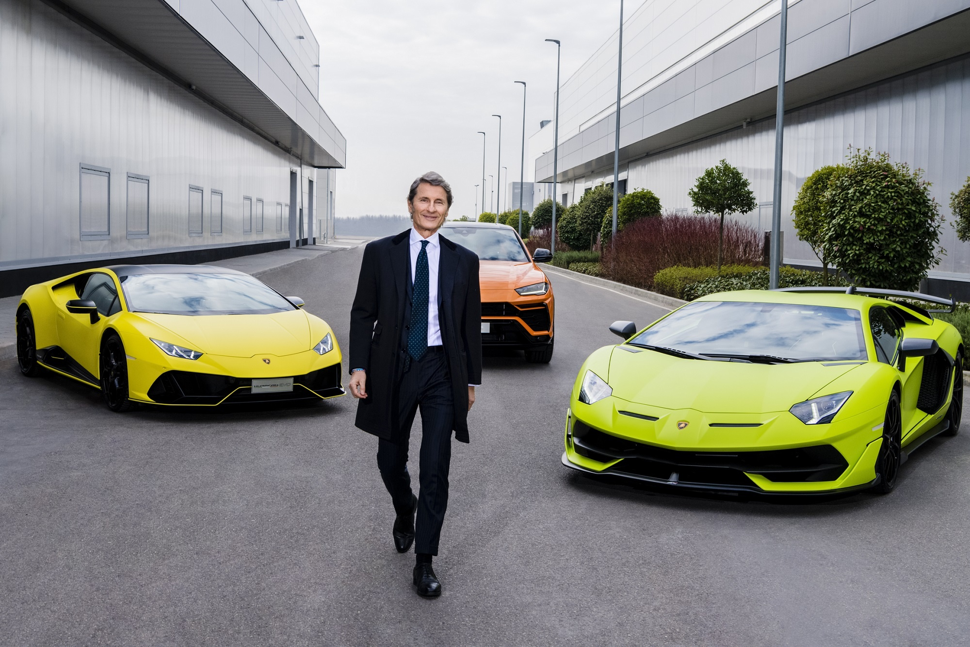 Lamborghini sales the best half-year ever Orders taken for the next ten months