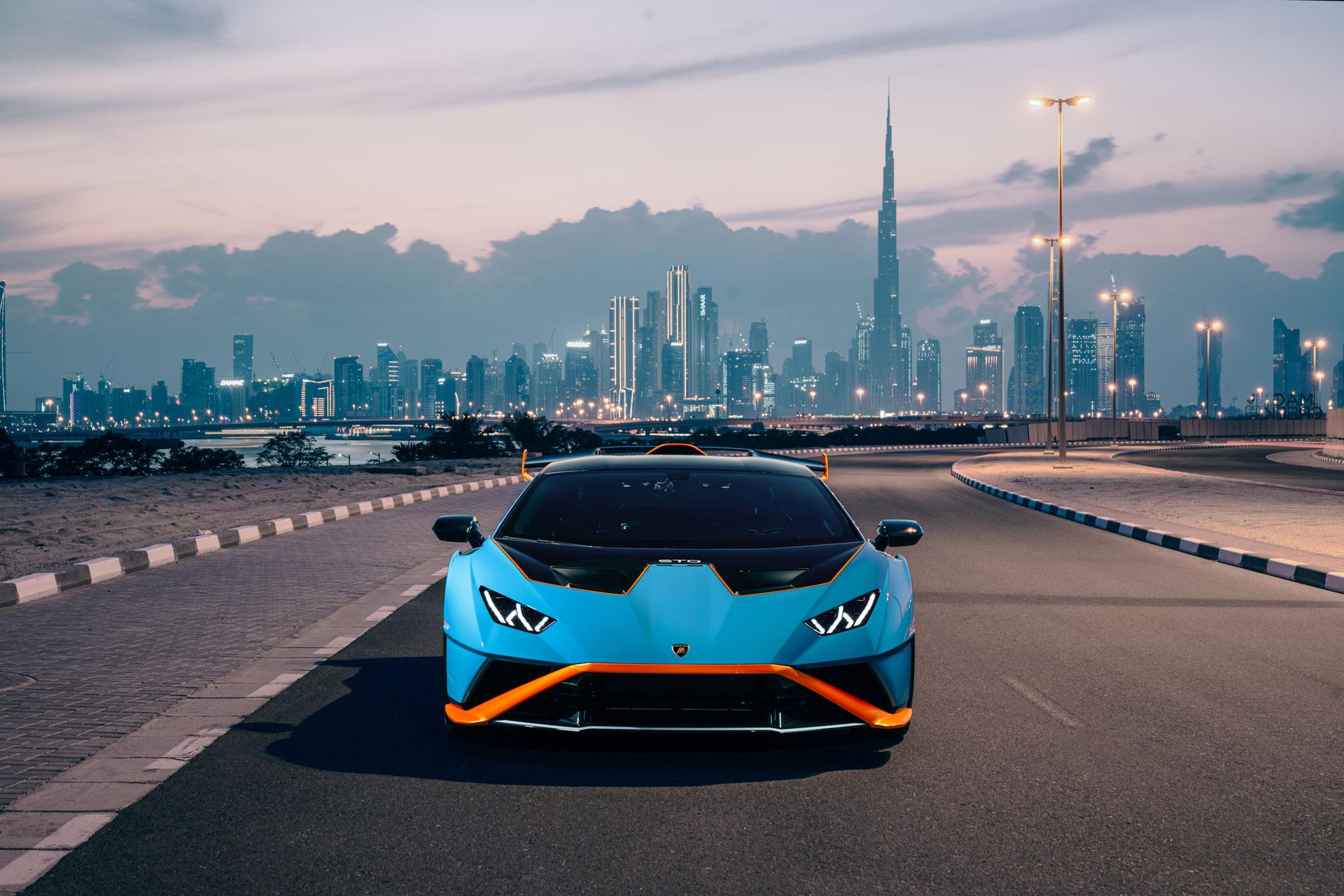 Automobili Lamborghini Unveils New Huracán STO in the UAE