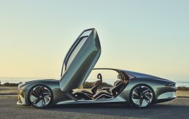 """Bentley's EXP 100 GT Wins """"Most Beautiful Concept Car of the Year"""" Award"""