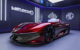 MG Motor reveals more details about its cutting-edge, fully-electric Cyberster Concept Car