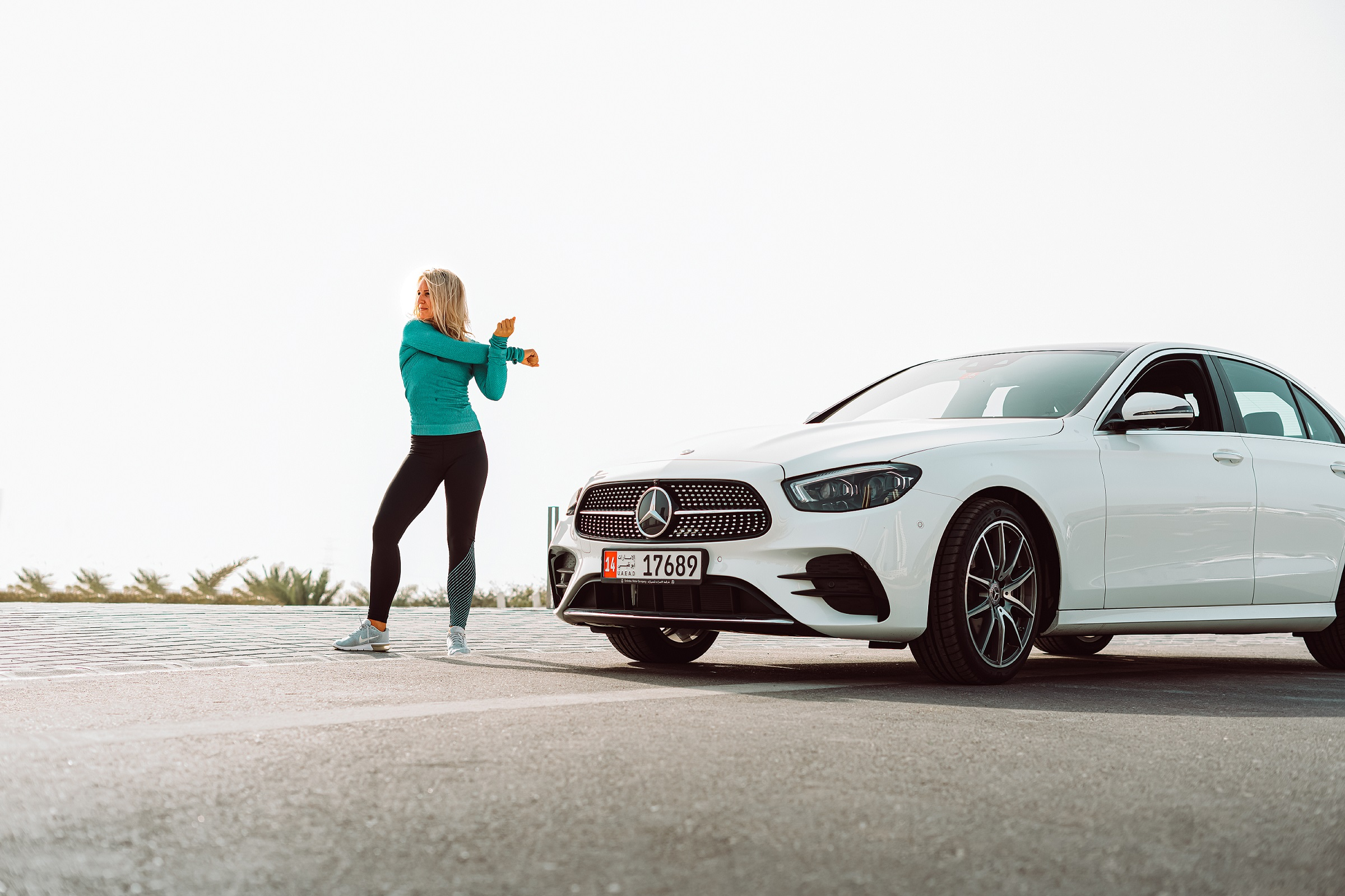 Emirates Motor Company Celebrates Women in Abu Dhabi with She's Mercedes Activation