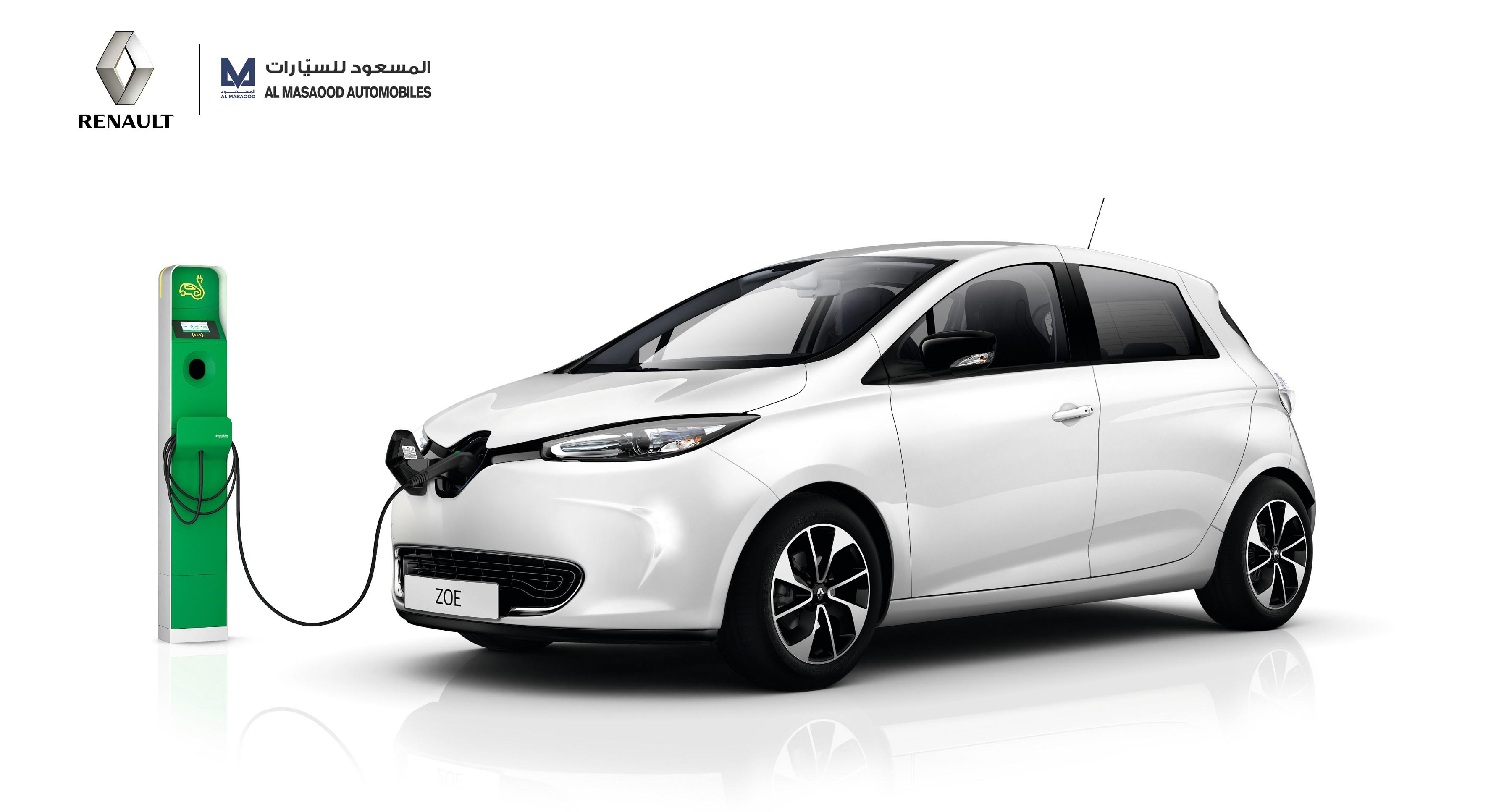 Al Masaood Automobiles Launches Latest Renault Zoe in Abu Dhabi