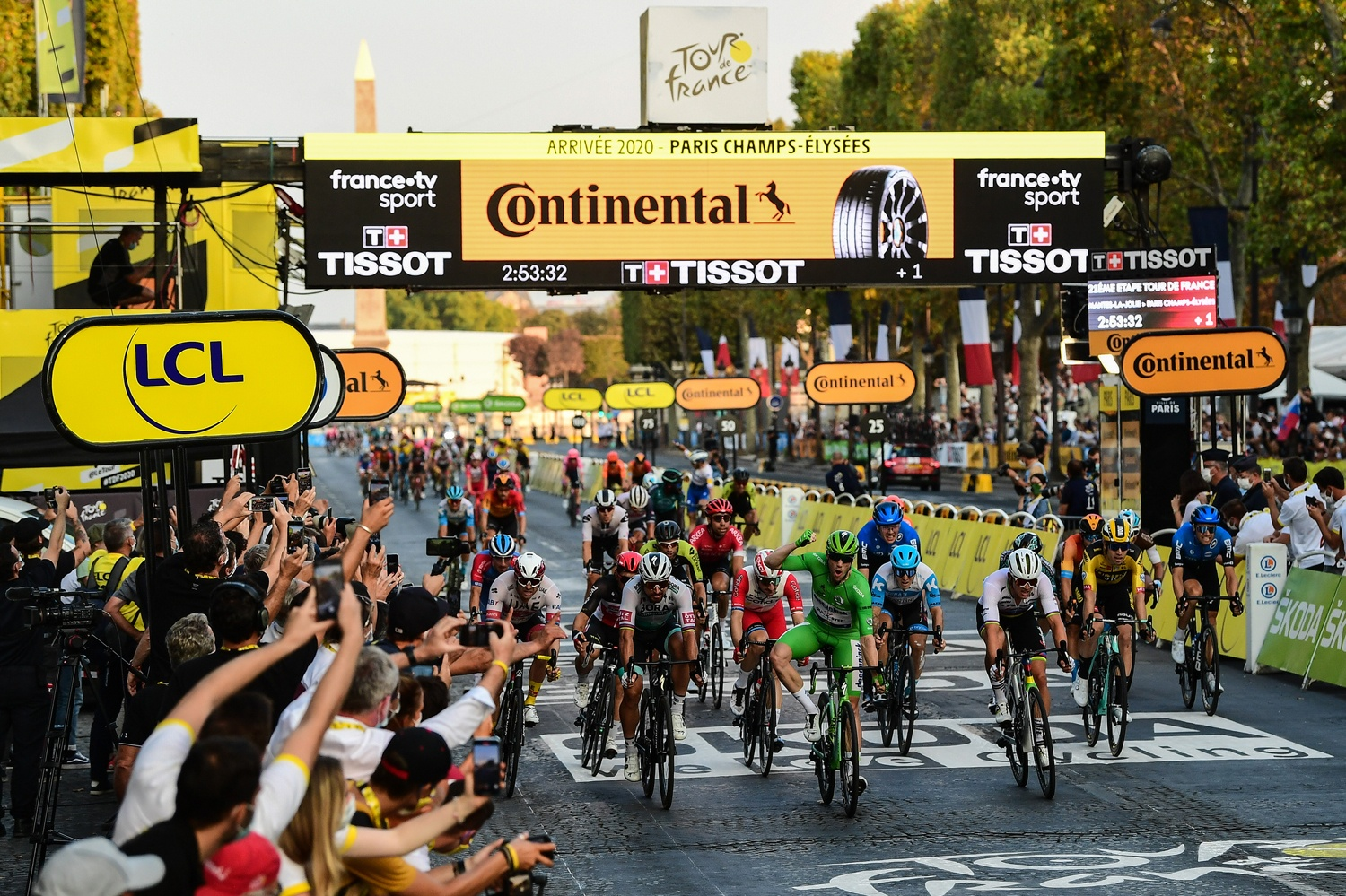Tour de France 2020 Highlights More Sporting Success for Continental