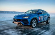 Lamborghini Urus sets high-speed record on the ice of Lake Baikal