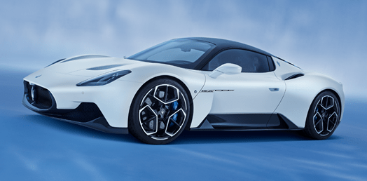 Bridgestone develops bespoke Potenza tyres for Maserati's MC20