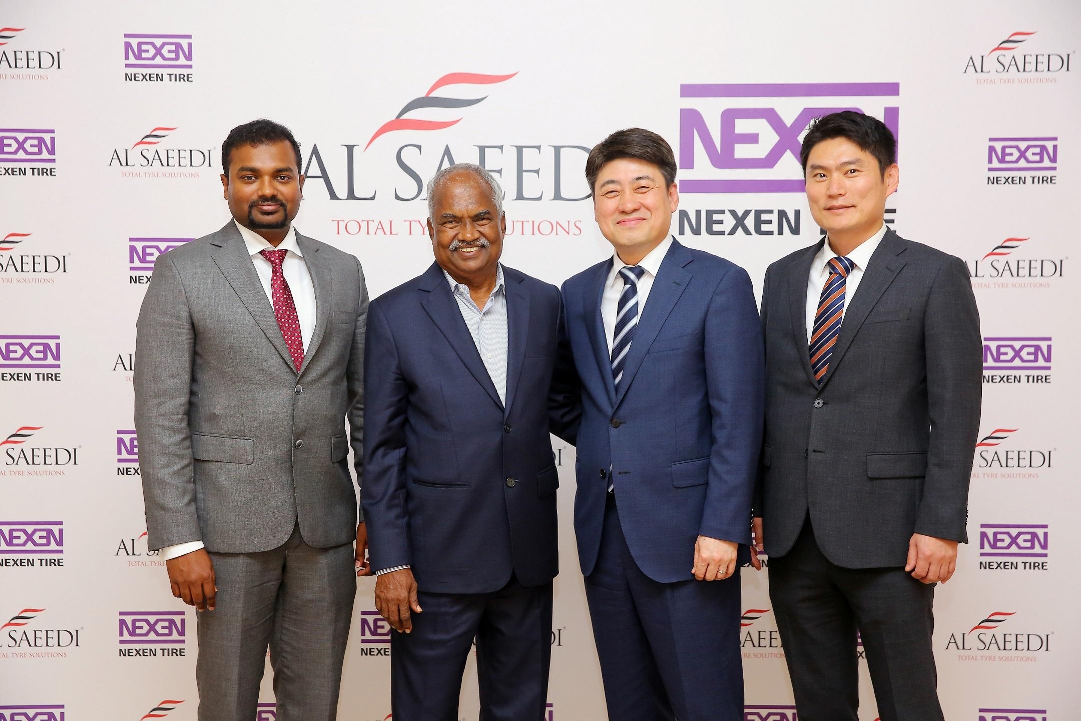 Nexen Tire partners with Al Saeedi Group