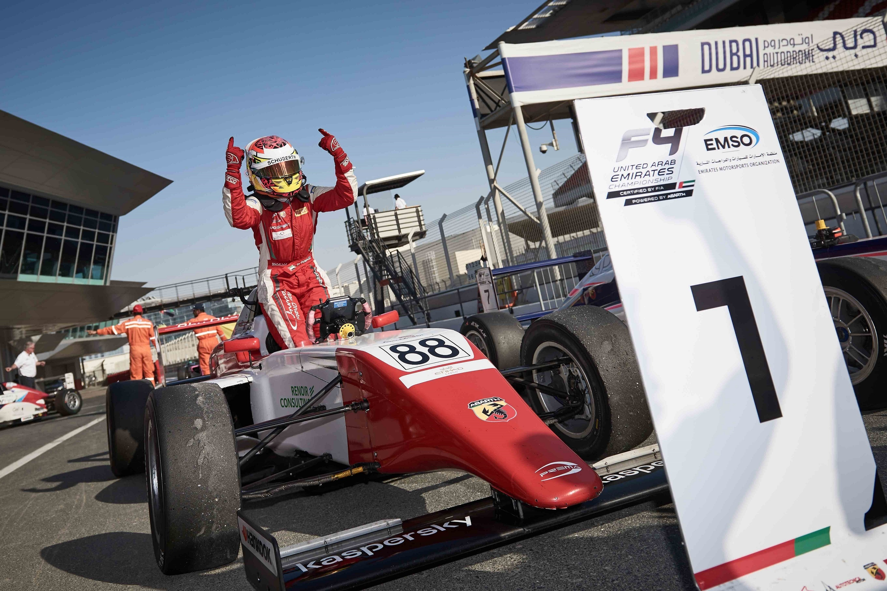 First-of-its-kind motorsport survey boosts efforts to develop uae's young racing drivers
