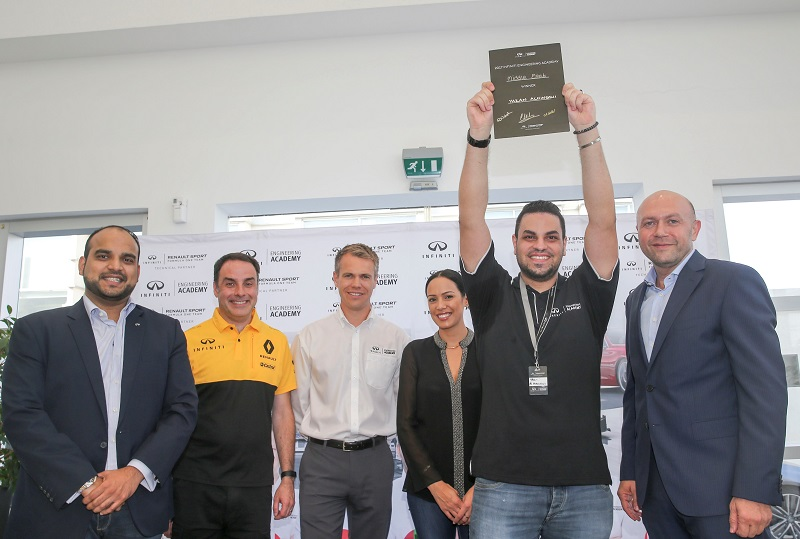 Infiniti Gives UAE Based Engineering Student Life Changing Career Break