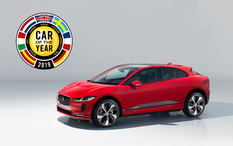 Jaguar I-Pace Chosen as European Car of the Year