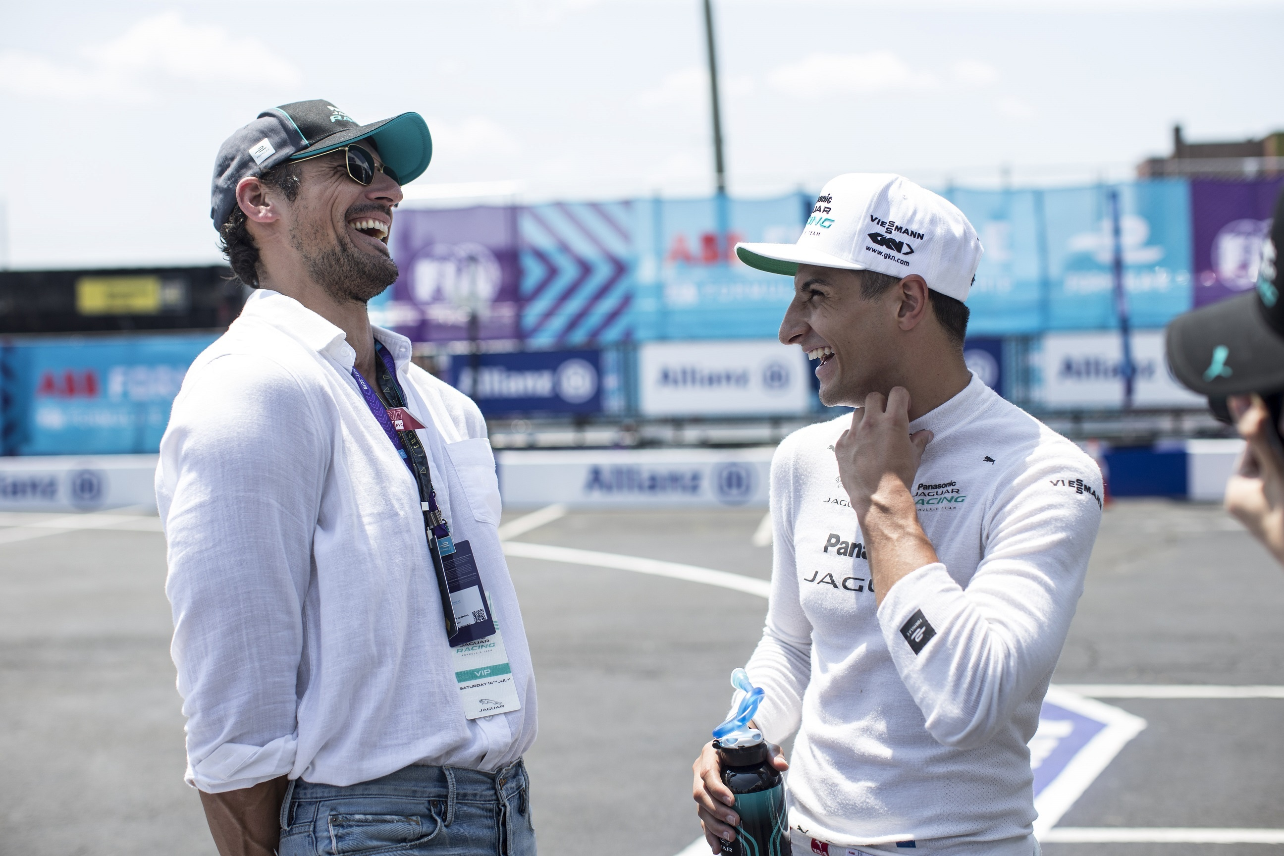 DAVID GANDY STARS IN JAGUAR RACING PODCAST SERIES - RE:CHARGE @ HOME