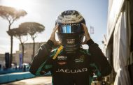 Jaguar racing head to valencia sitting top of drivers' and teams' championship standings