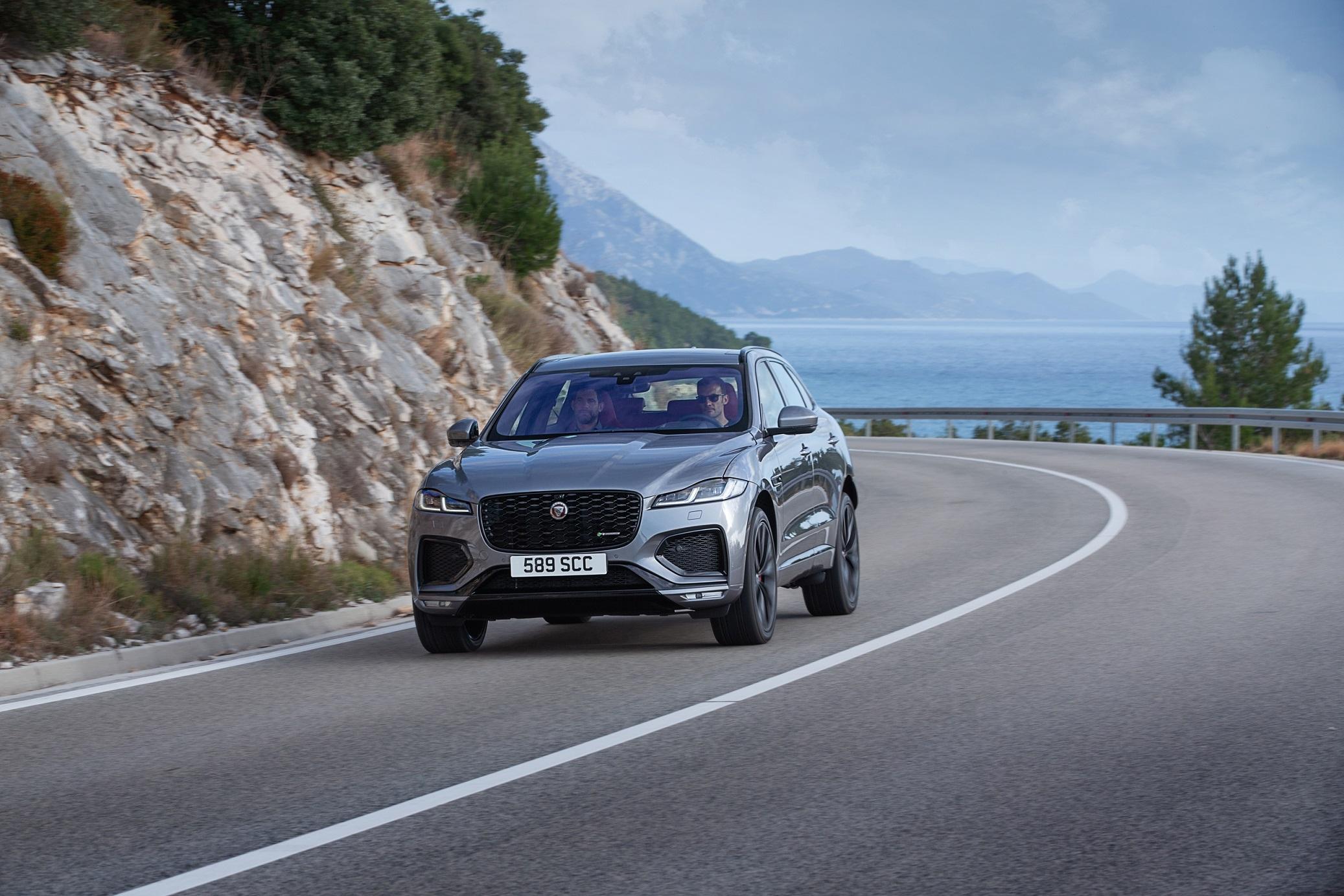 New Jaguar F-Pace