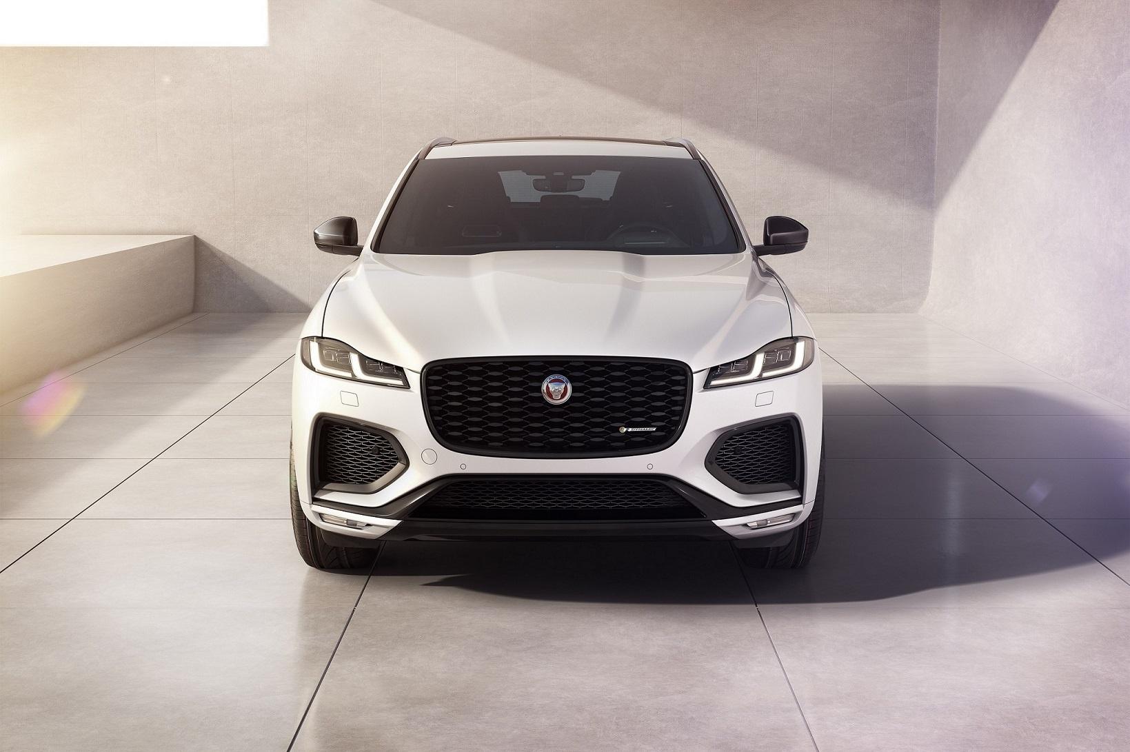 Jaguar F-Pace Gets R-Dynamic Black Model And Enhanced Technology