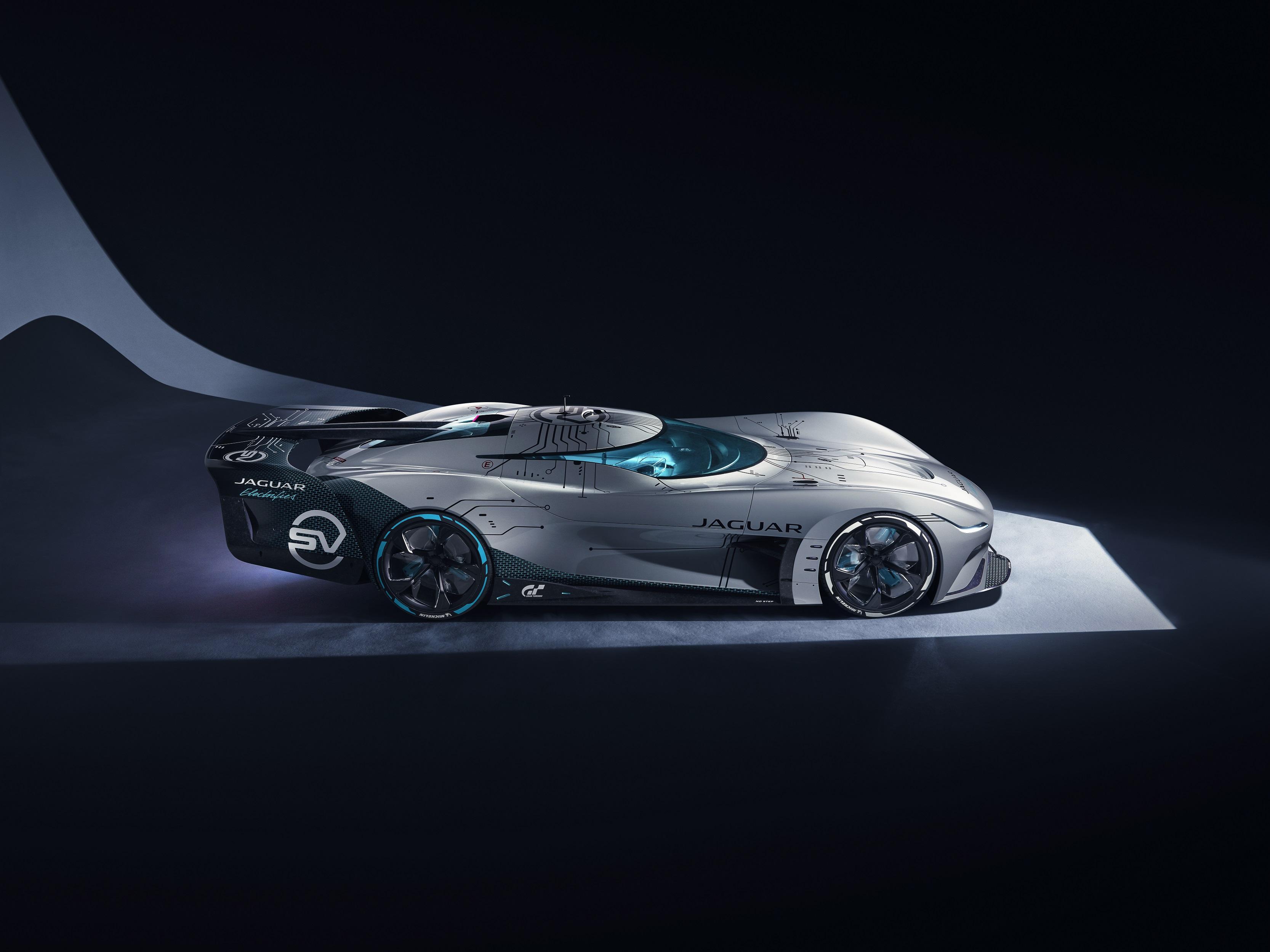 Introducing The Jaguar Vision Gran Turismo SV