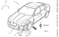 Jaguar Land Rover Focuses on Aerodynamics with Patent for Aero guide vane system
