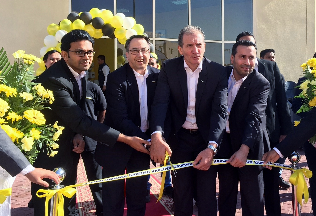 Kärcher Opens Dedicated Service-Centre at Ras al Khor