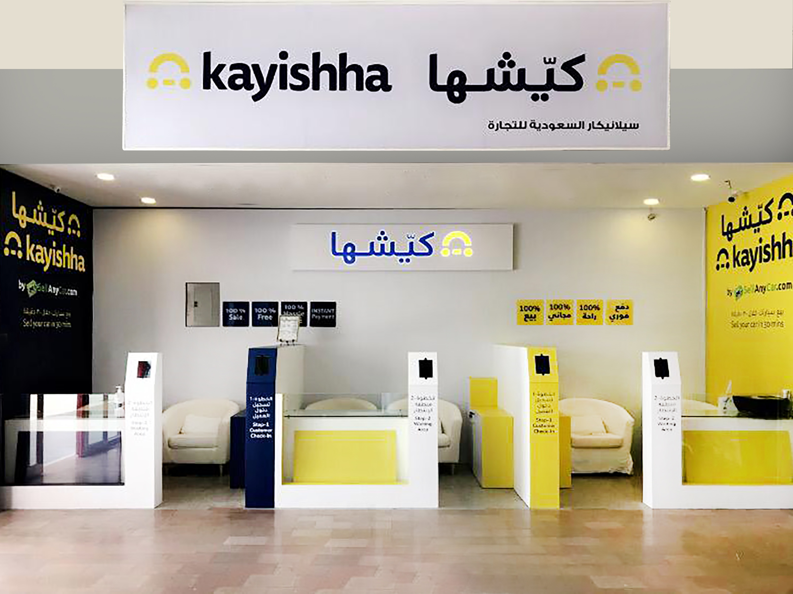 "SellAnyCar.com Expands into Saudi Arabia with the Launch of the New ""Kayishha"" Online Used Auto  Marketplace"