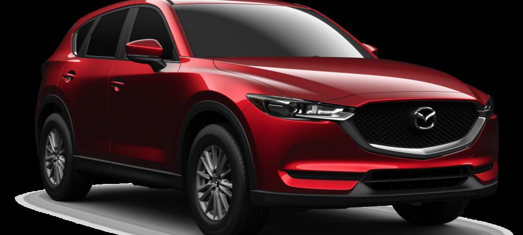 New Mazda CX-5 to Sport Yokohama Geolander Tires