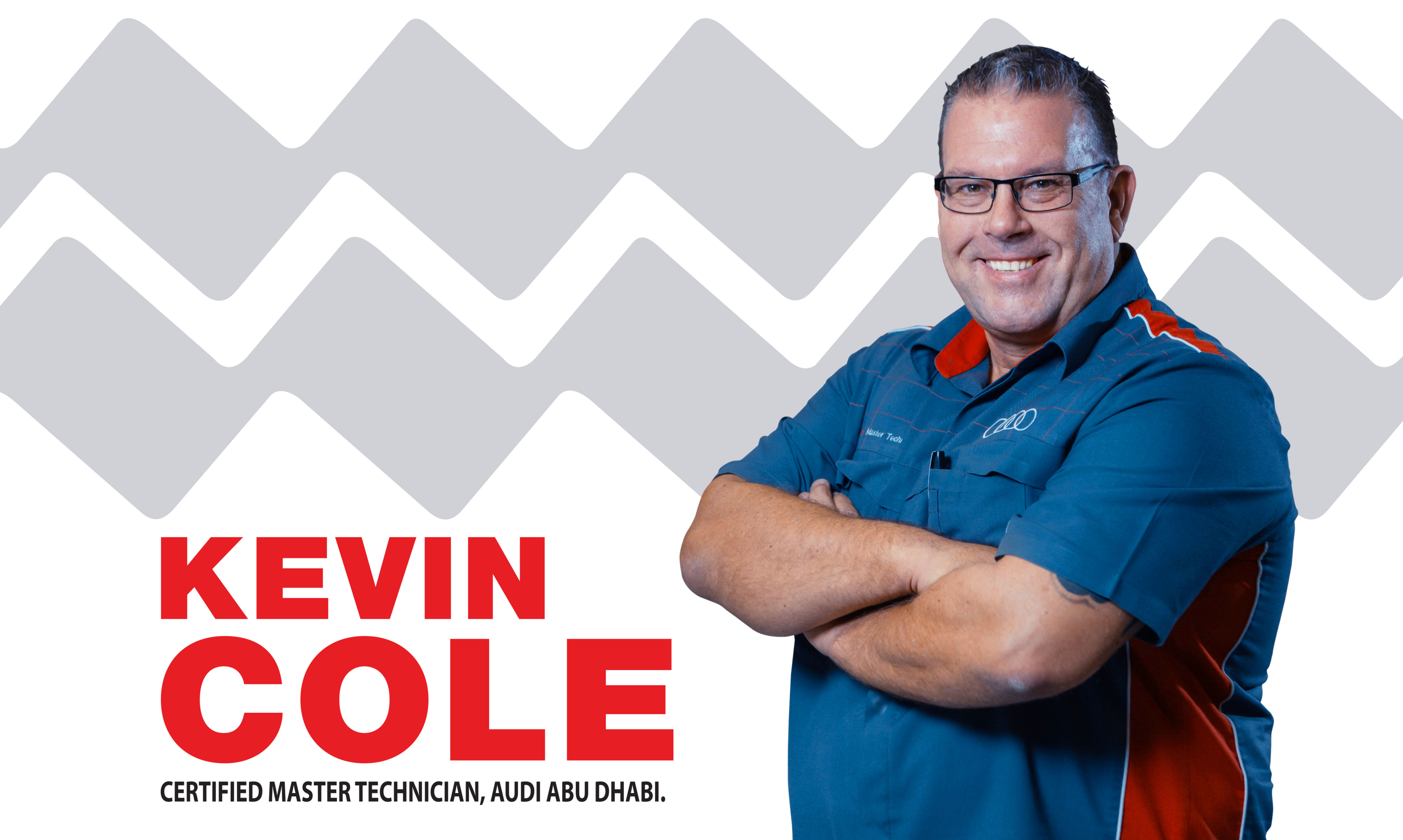Interview with Kevin Cole – Certified Master Technician, Audi Abu Dhabi.