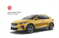 KIA Wins Red Dot Design Award for Xceed