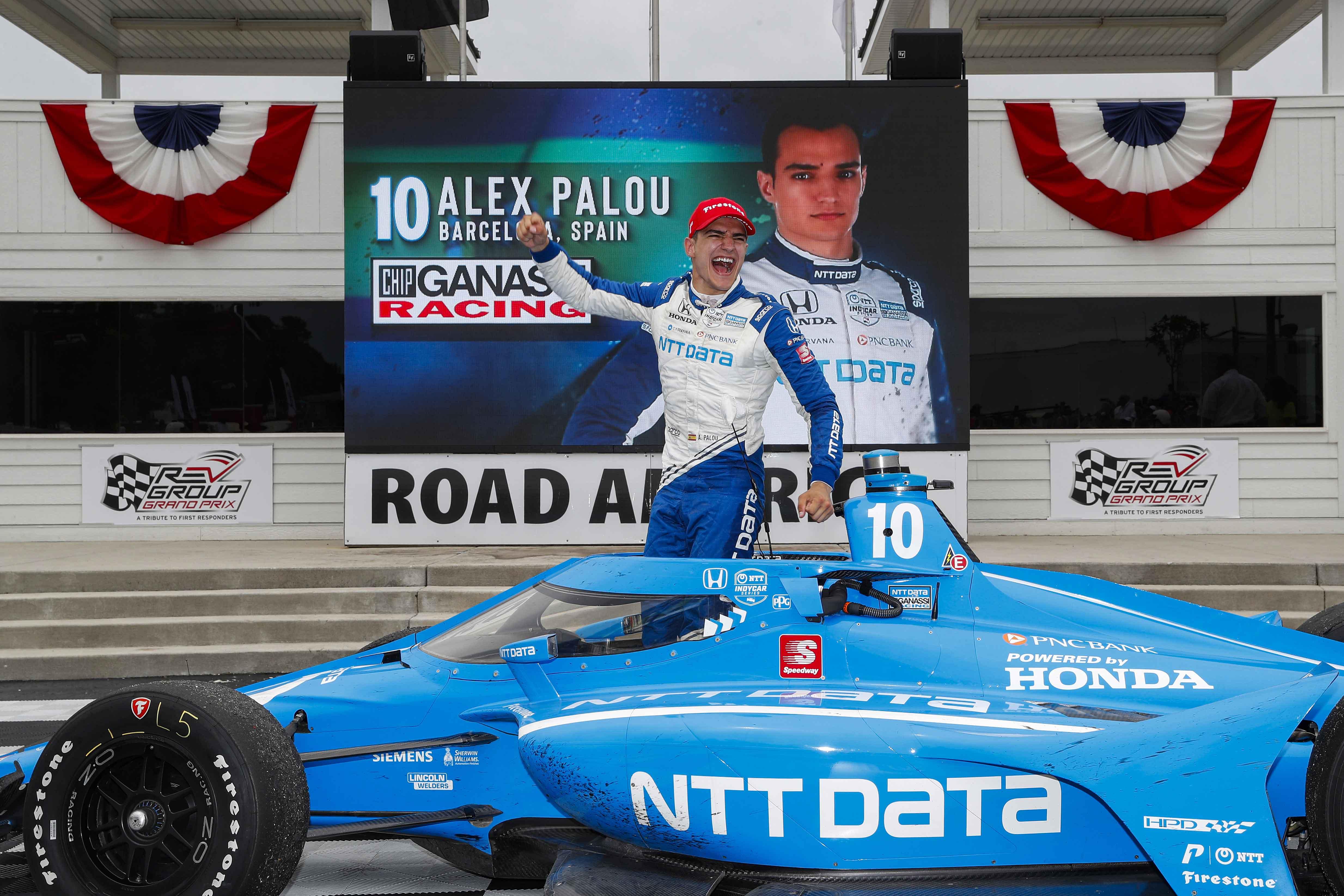 Palou Leads Honda 1-2 at Road America