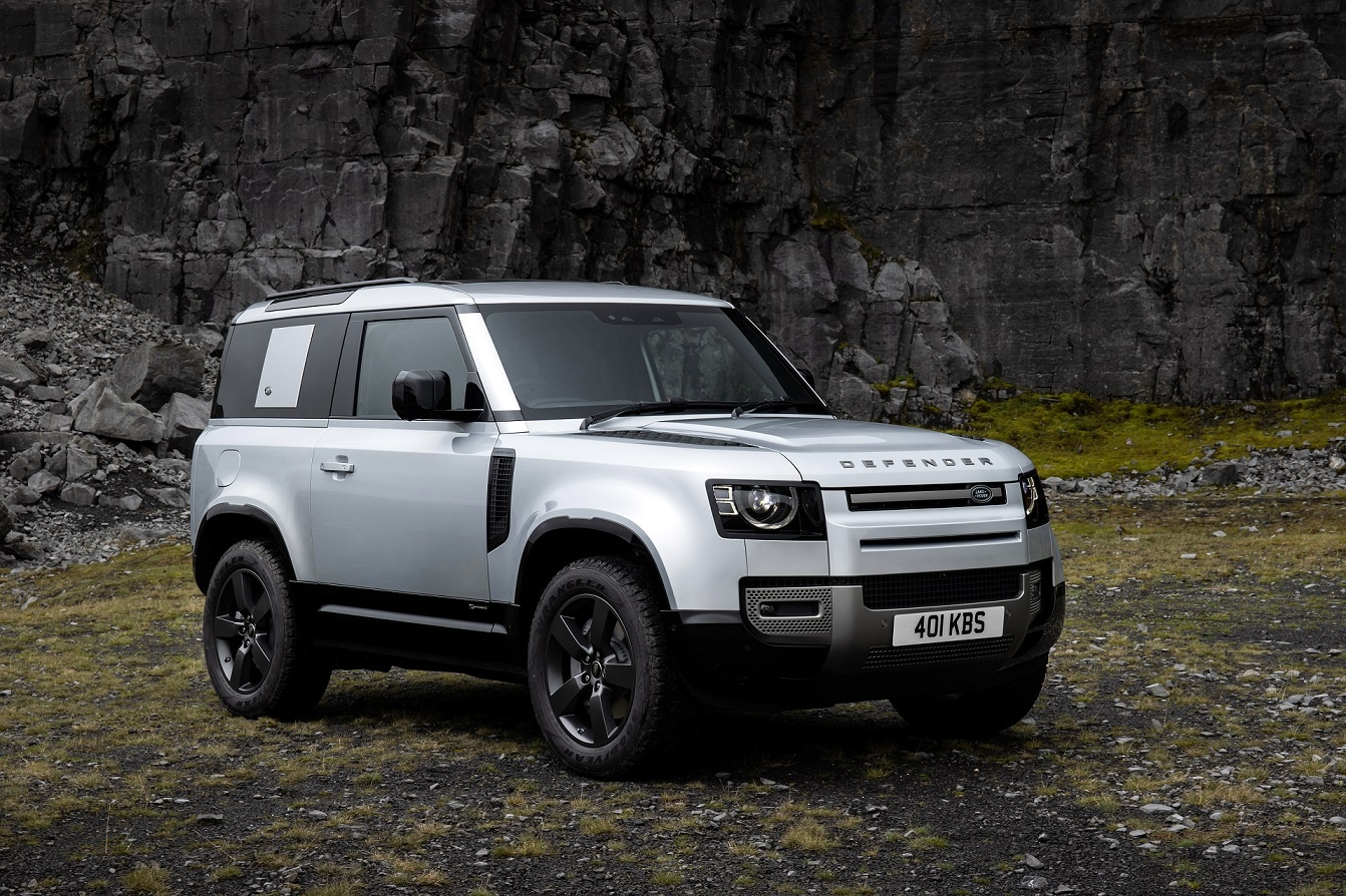 Land Rover defender gains plug-in hybrid electric power