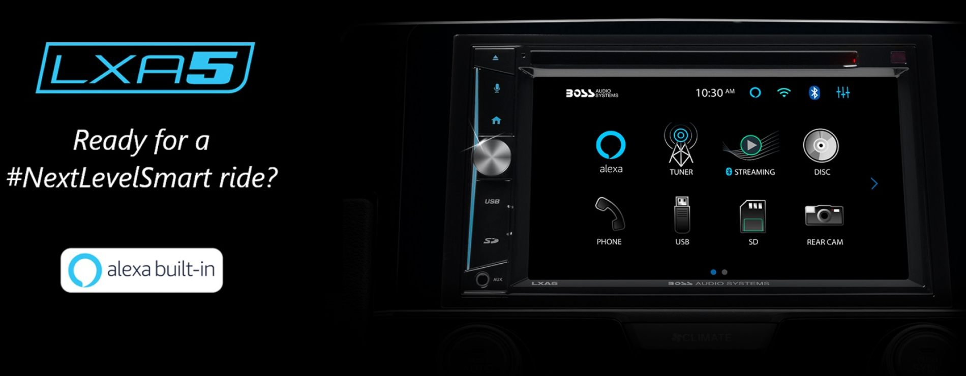 BOSS Audio Systems Showcases LXA5 Smart Media Platform at CES