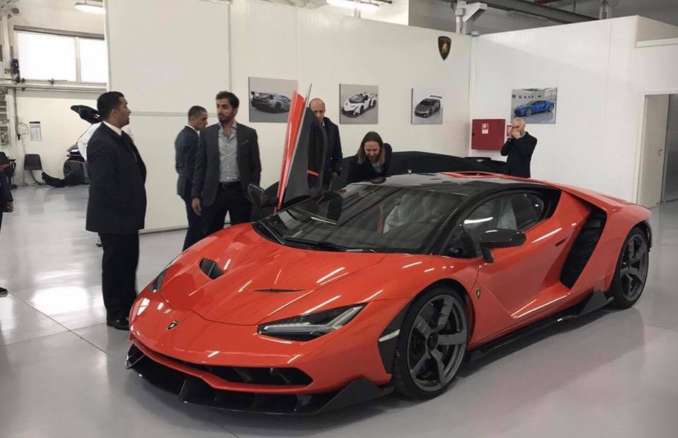 UAE Motorist Gets First Lamborghini Centenario