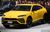 Lamborghini Makes a Splash with the Urus