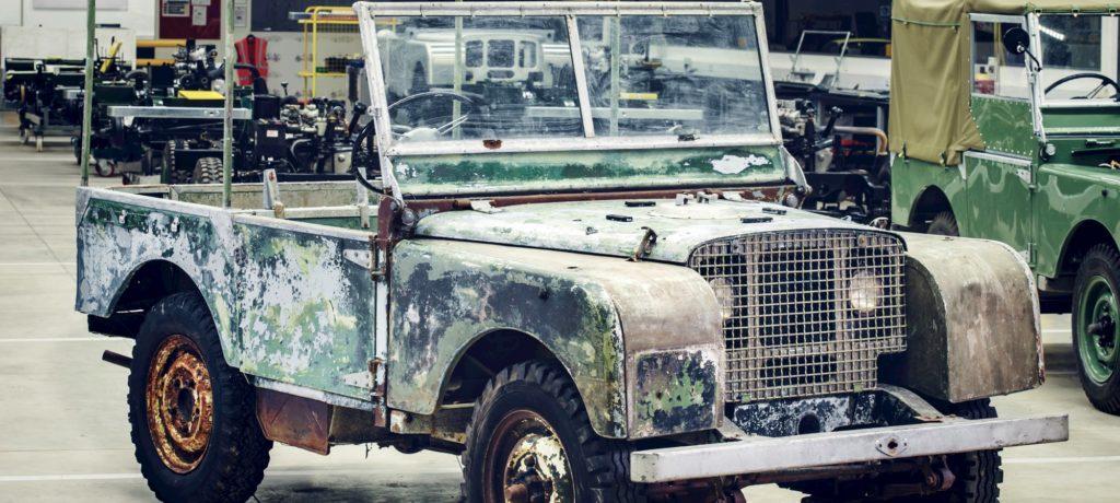 Land Rover to Restore Rare Original Series I SUV