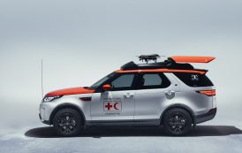 Land Rover Creates Bespoke Discovery Model with Drone Technology to Help Red Cross Save Lives