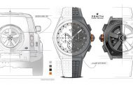 Land Rover Joins Zenith to Create 'Defy 21 Edition' Watch to Celebrate New Defender