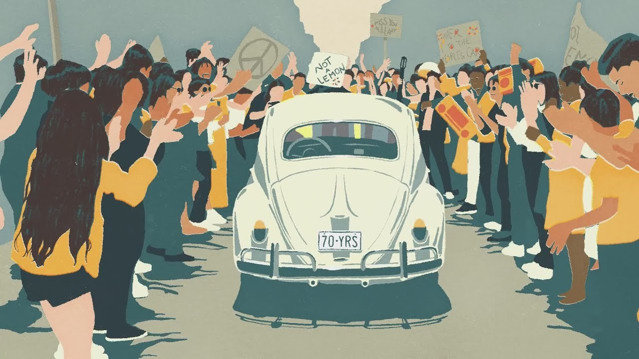 VW Makes Animated Short Film to Mark End of the Beetle
