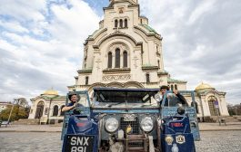 The Last Overland Expedition Stops at Nitra Factory to come face-to-face with New Defender